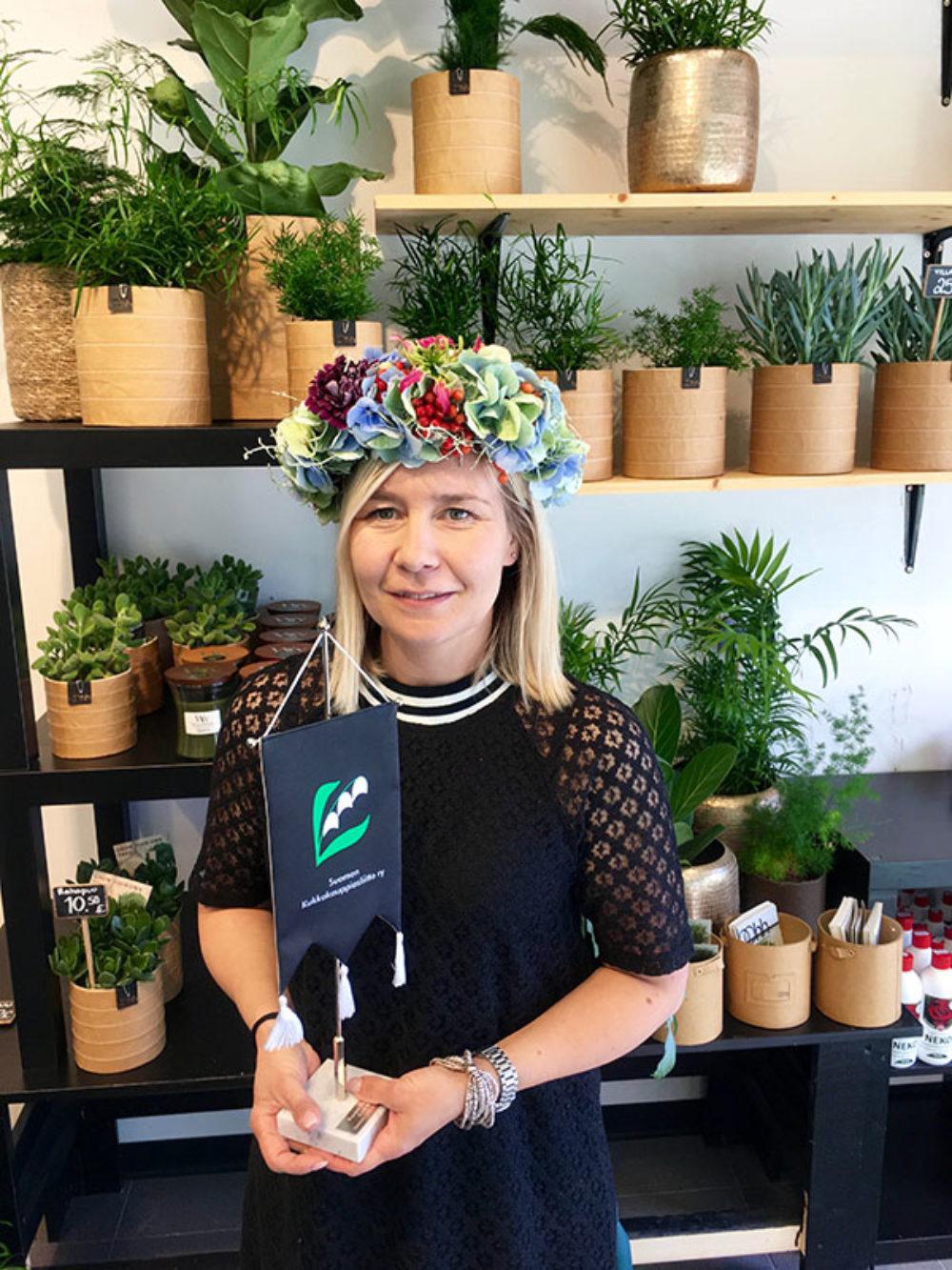Vuoden floristi 2017 on Kirsi Martin!